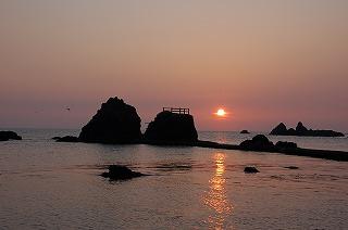 河野海岸夕日2.jpg